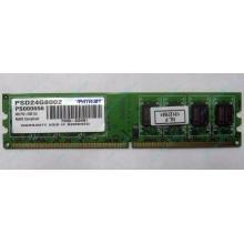 Модуль оперативной памяти 4Gb DDR2 Patriot PSD24G8002 pc-6400 (800MHz)  (Бийск)
