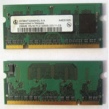 Модуль памяти для ноутбуков 256MB DDR2 SODIMM PC3200 (Бийск)